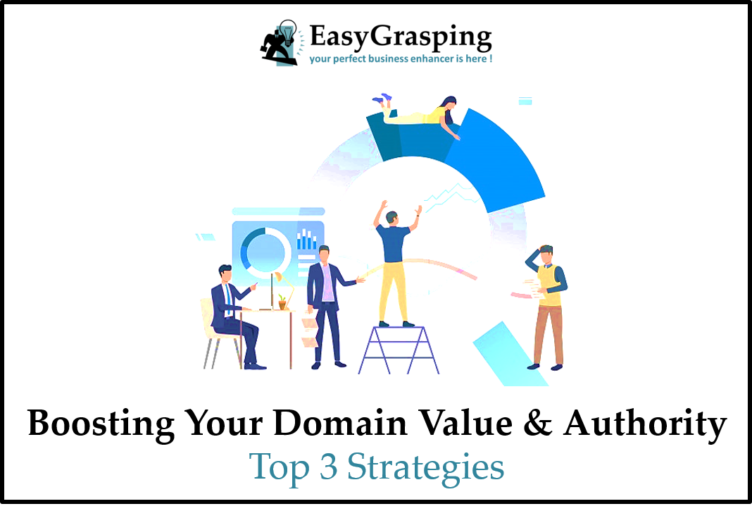 Top 3 Strategies which boosts up your whole Domain Worth!